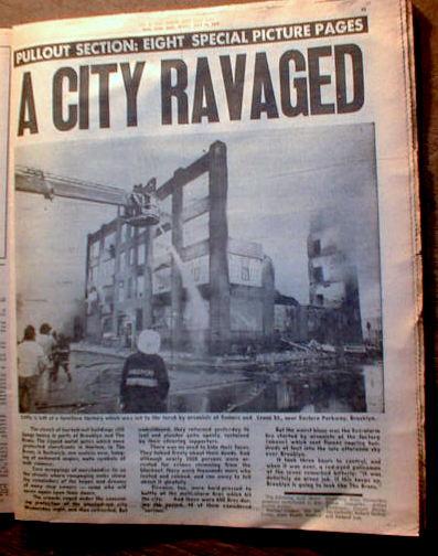 New york blackout july 13 1977